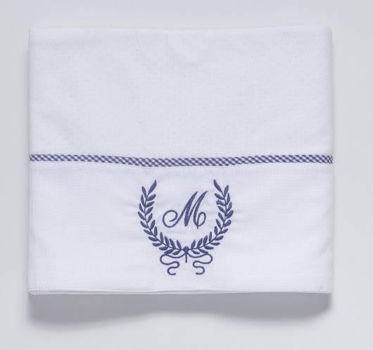 Cueiro branco personalizado com nome