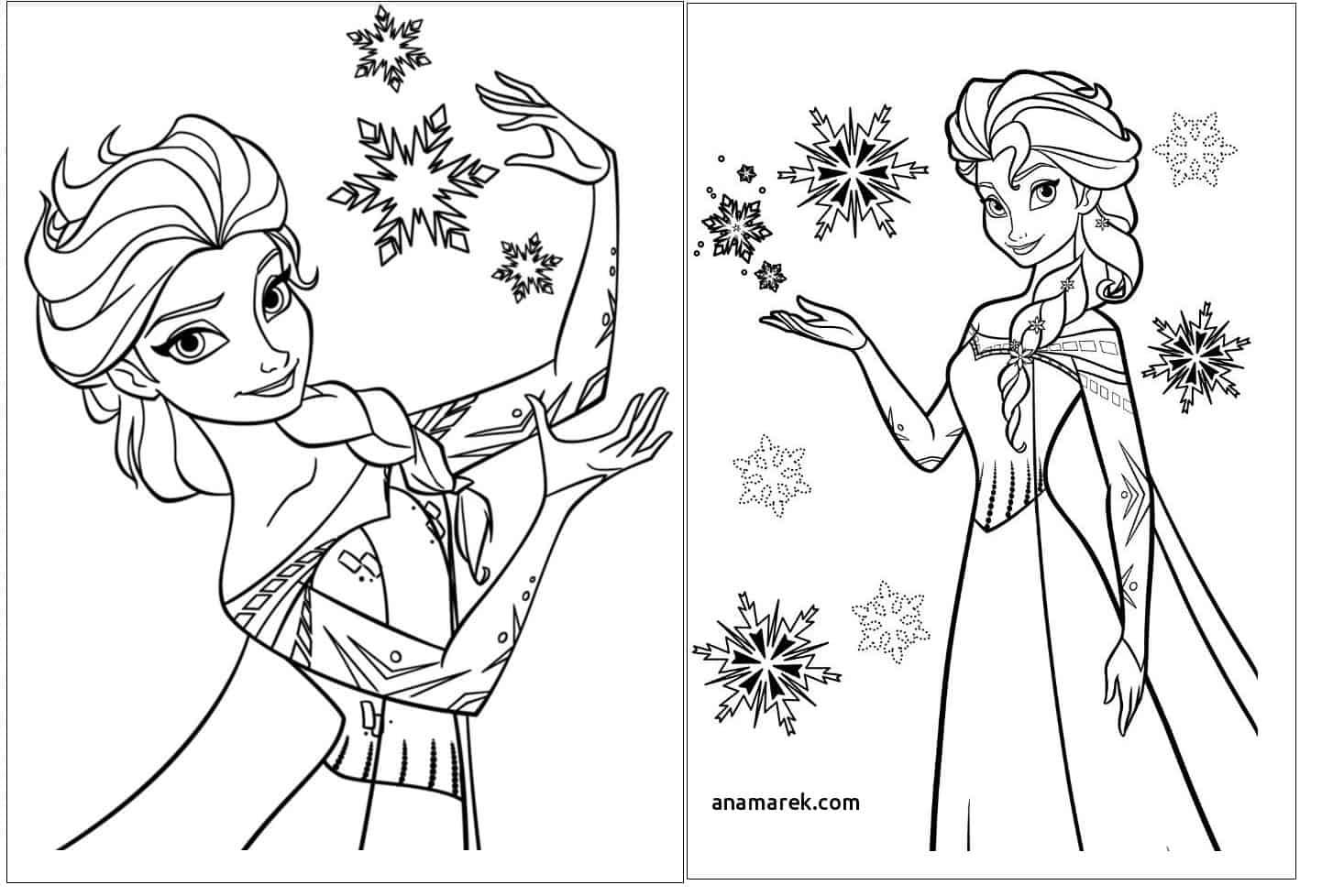 desenhos gráts Elsa