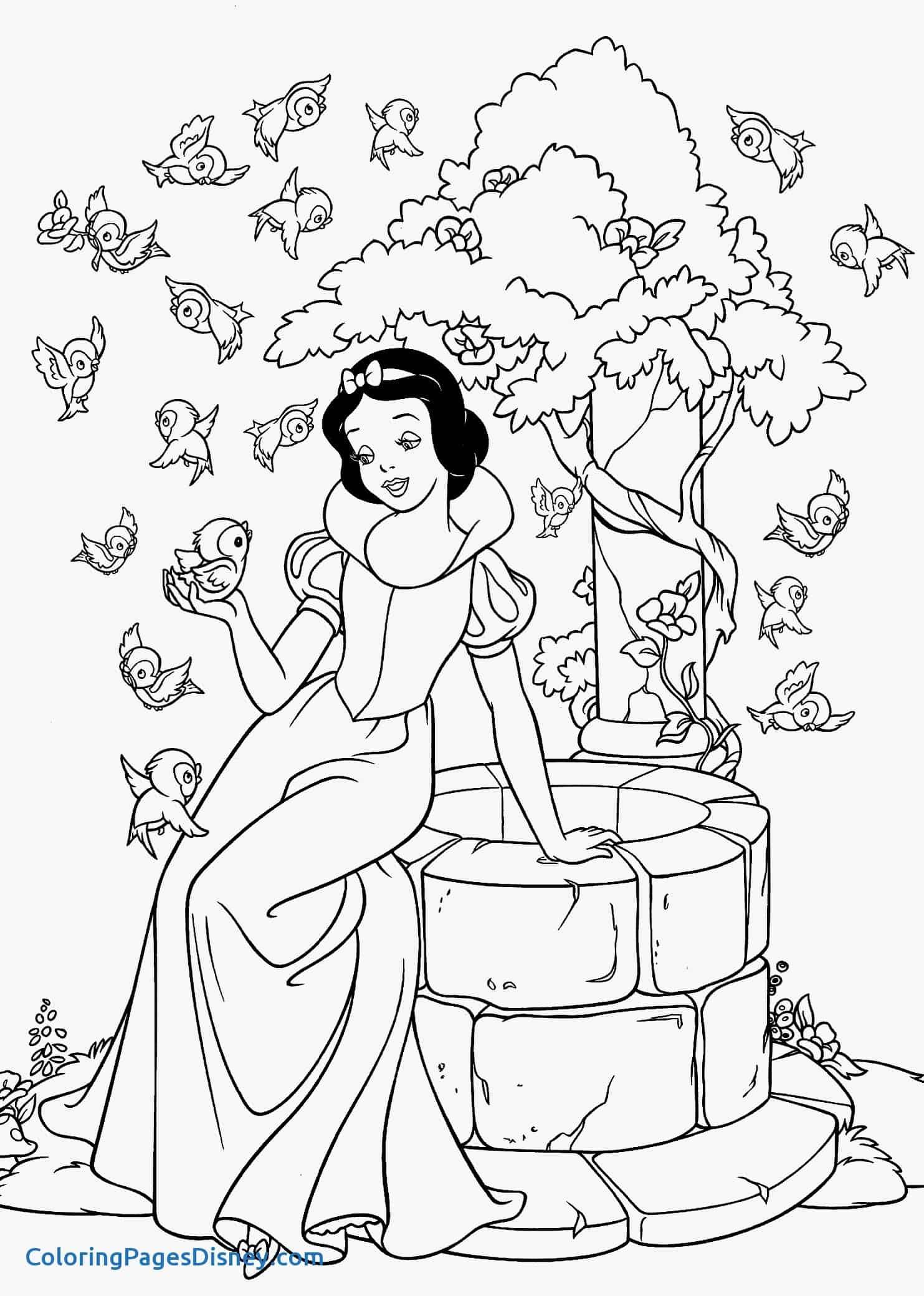 desenho Branca de Neve para  imprimir