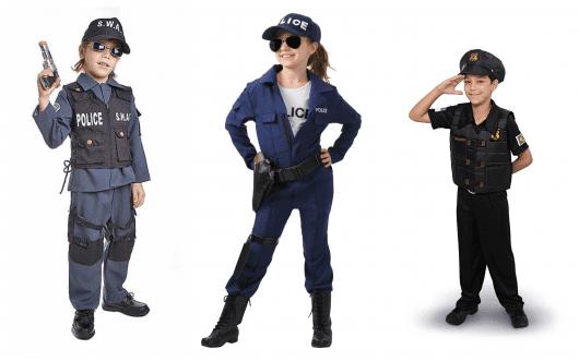 Dicas estilosas de fantasias de policial para meninos e meninas