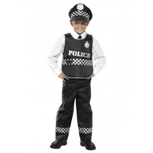 Mais um modelo diferente de fantasia de polícia