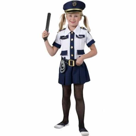 fantasia diferente de policial infantil feminina