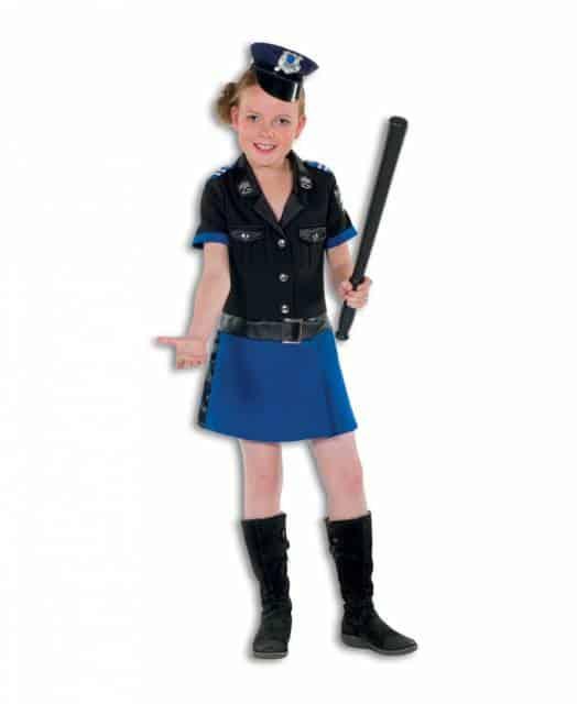 Fantasia bem fofinha de policial para meninas