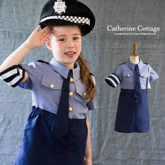 Ideia de fantasia de policial para meninas