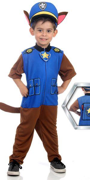 Dica de fantasia divertida de policial do Patrulha Canina