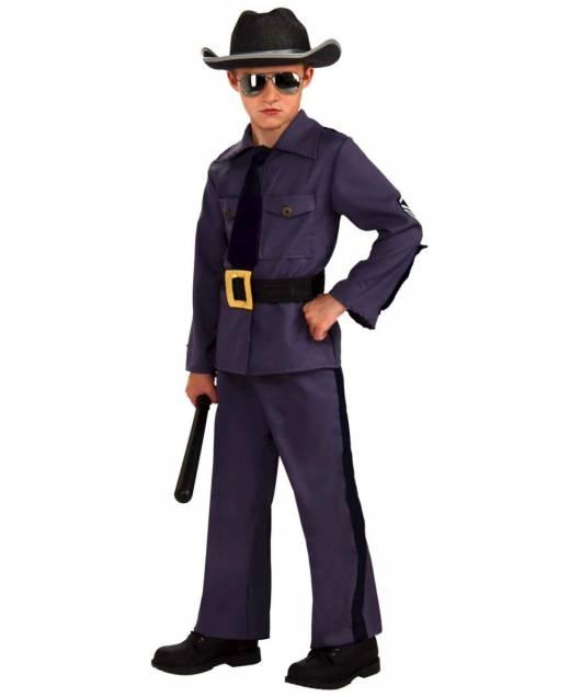 Dica para uma fantasia bem norte-americana policial