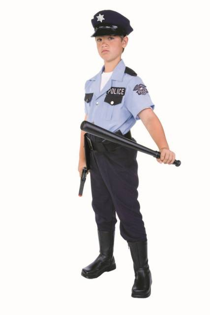 O cacetete também é um acessório do policial