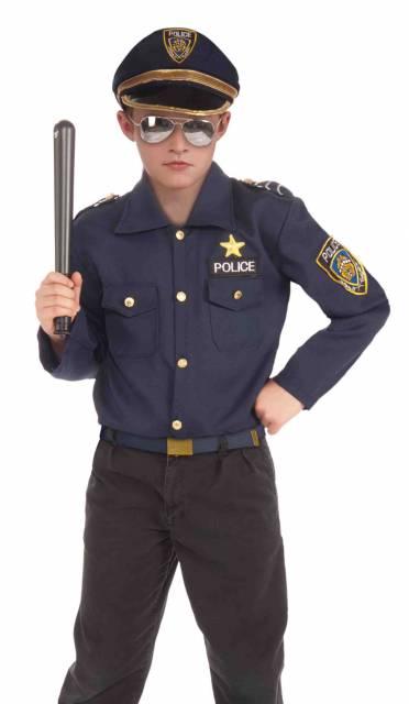 Ideia de fantasia escura de policial