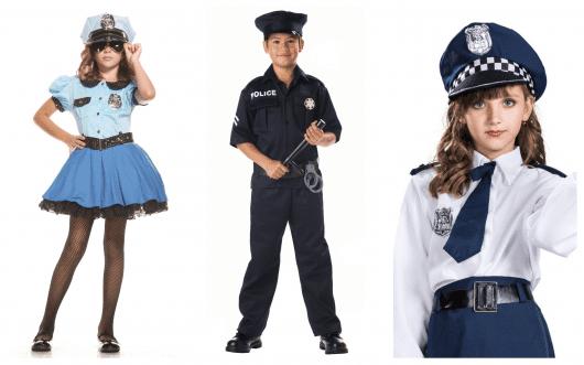 Descubra diversas opções de fantasias de policial infantil