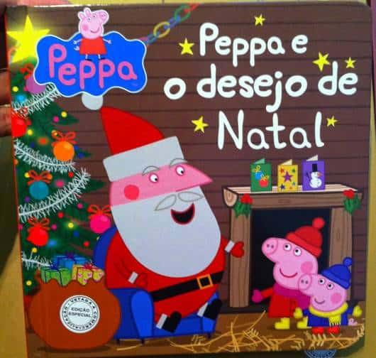 Histórias de Natal livro Peppa e o Desejo de Natal
