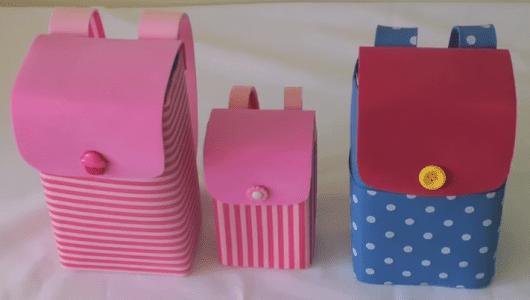 Lembrancinha dia das crianças com caixa de leite