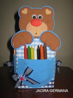 Lembrancinha dia das crianças com caixa de leite kit de pintura