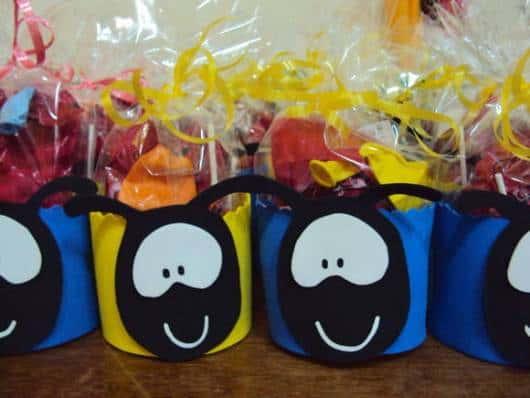 Lembrancinha dia das crianças evangélica porta doces Smilinguido
