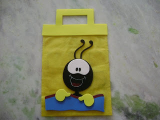 Lembrancinha dia das crianças evangélica sacola porta doces Smilinguido