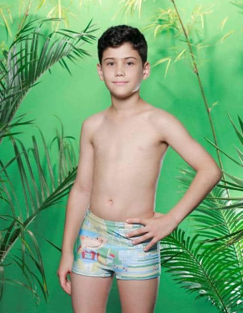 As sungas tipo short são mais confortáveis para os meninos