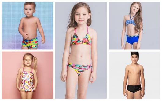 Moda Praia Infantil – Os 60 Modelos Mais Adoráveis para Curtir o Verão! 8182ae0a3b