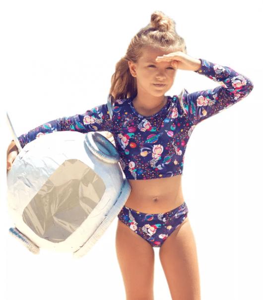 Meninas que estão iniciando no surfe podem aderir ao biquíni cropped