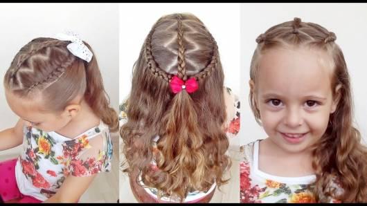 O zigue e zague cai super bem em cabelos de meninas