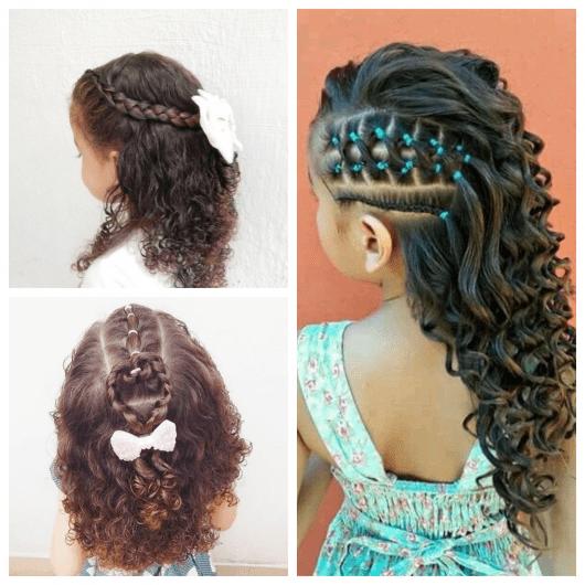 Ideias de tranças para cabelos cacheados