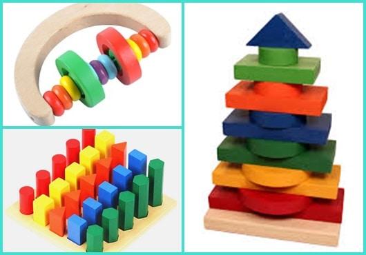 Brinquedo montessori inspirações