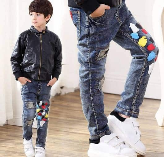 cala jeans patches