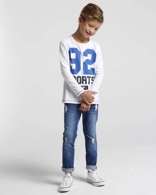Calça jeans infantil masculina - Riachuelo