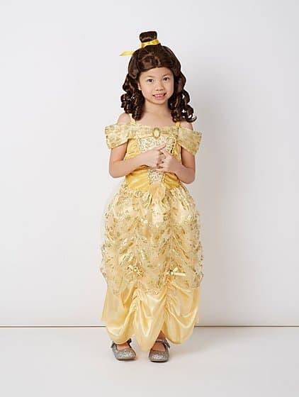 Dica de penteado para compor a fantasia da princesa Bela
