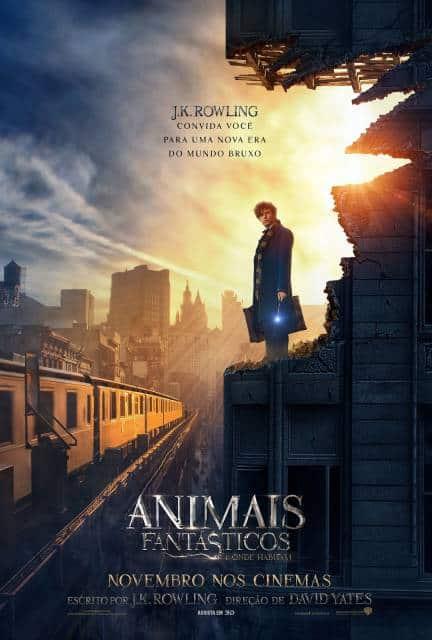 filmes de magia Animais Fantásticos e Onde Habitam