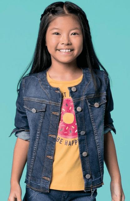 Jaqueta Jeans Infantil - Hering Kids