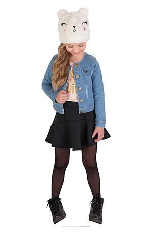 Invista no look infantil com jaqueta jeans