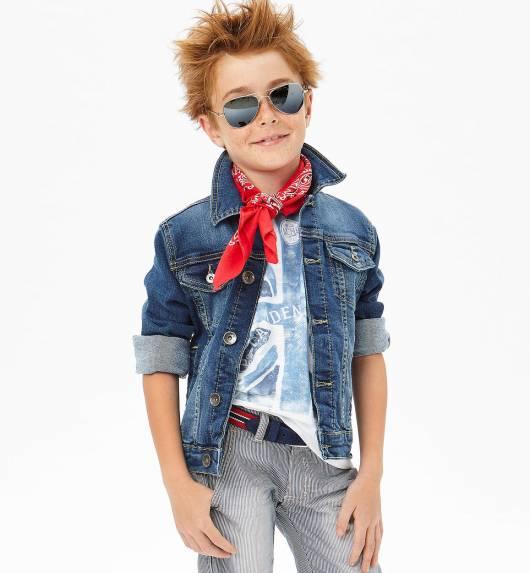 Look moderno infantil masculino