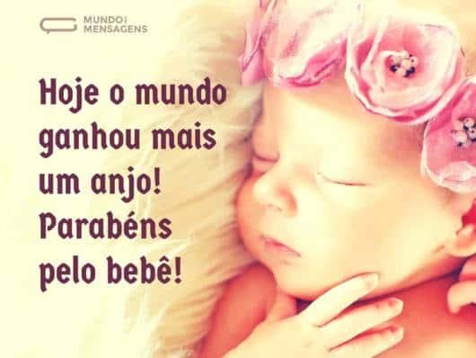 Dica de mensagem para enviar pelas redes sociais bebês