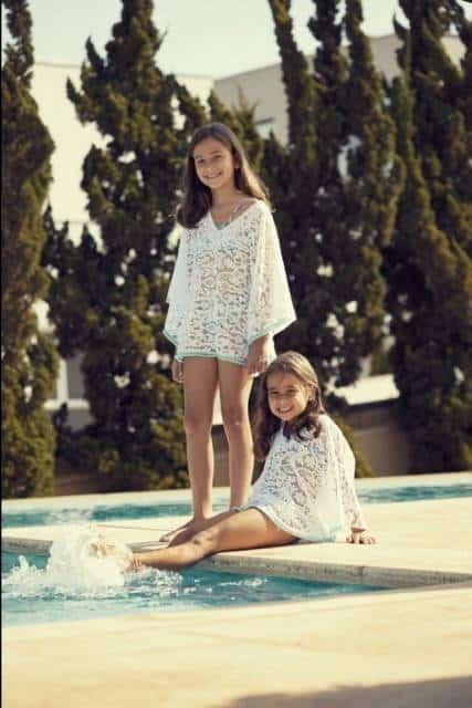 Inspiração de look infantil para praia e piscina
