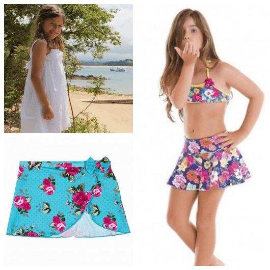 Procure uma saída de praia para sua filha antes que chegue o verão