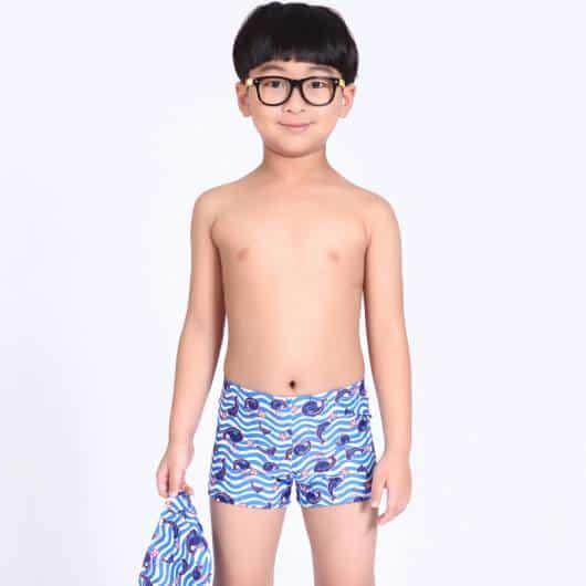 Sunga modelo short com estampa