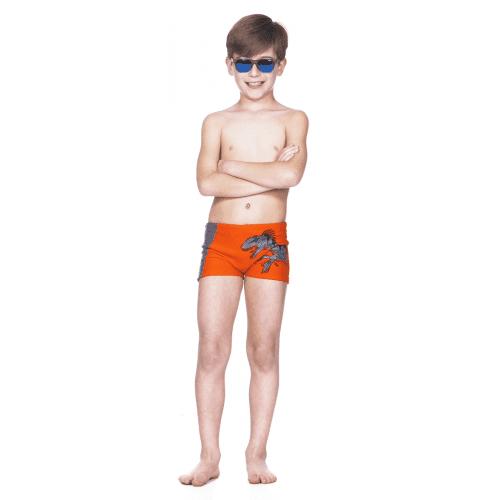 Sunga laranja infantil