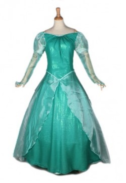 Vestido verde Ariel.