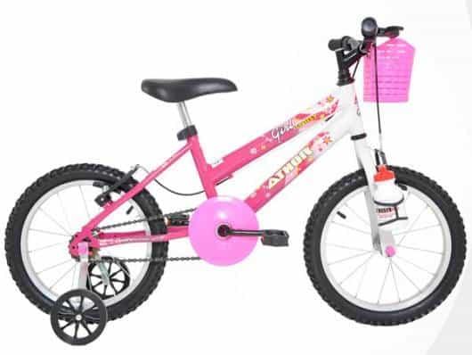 É bacana saber se a bicicleta ficará compatível com o tamanho da menina