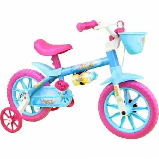 bicicleta Pink e azul formam um par de cores lindo