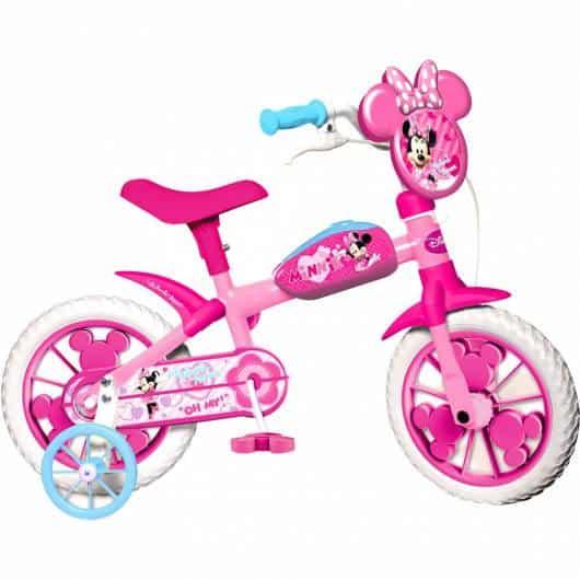 Bike inspirada na Minnie, que certamente agrada as meninas