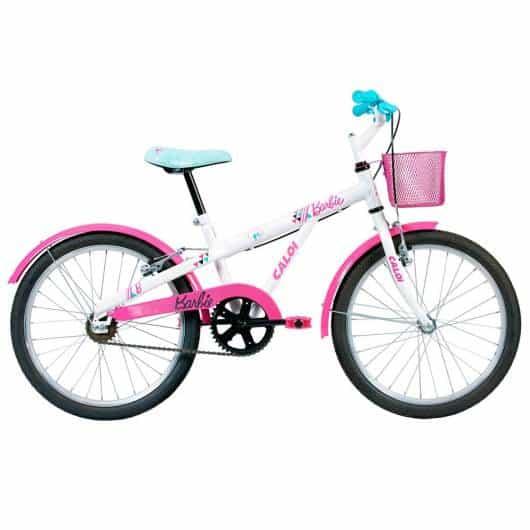 Bicicleta para as meninas que já aprenderam a andar sem rodinhas