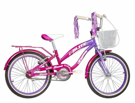 Veja que modelo de bicicleta infantil feminina interessante