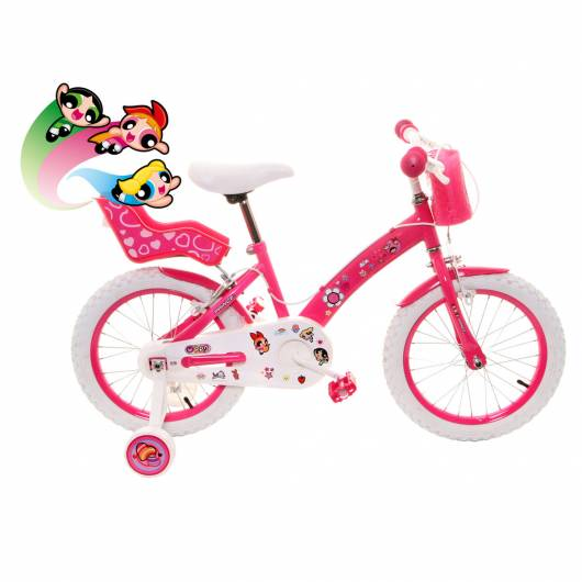 Bicicleta inspirada nas Meninas Superpoderosas