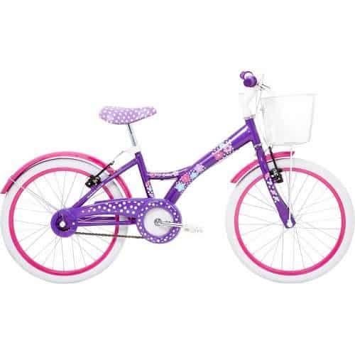 Dica de bicicleta para meninas