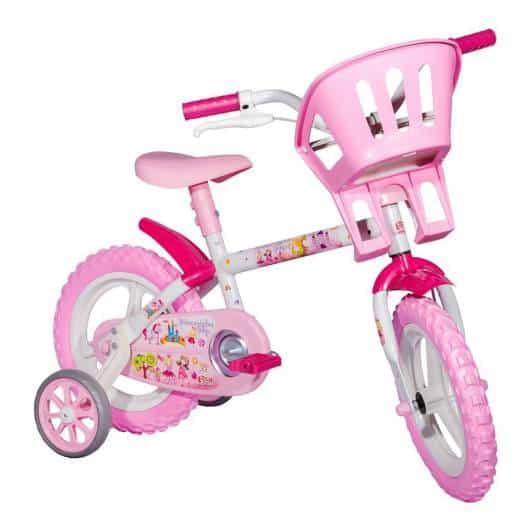 Bicicleta infantil feminina - Casas Bahia