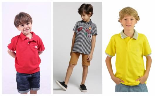 3f263eb185 Camisa Polo Infantil – 50 Modelos Adoráveis