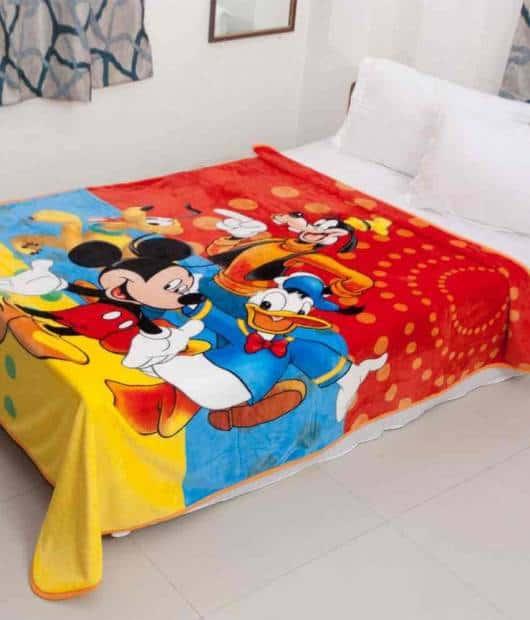 cobertor Mickey