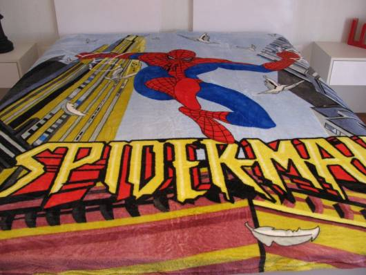 cobertor super herói
