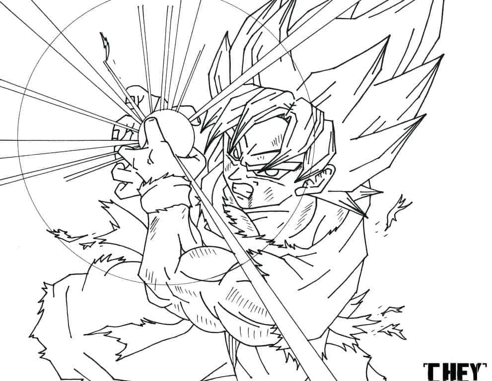Pagina Para Colorear De Dragon Dragon Ball Z Para Dibujos: Imprimir Dragon Ball Super: Dragon Ball Super Dibujos Para
