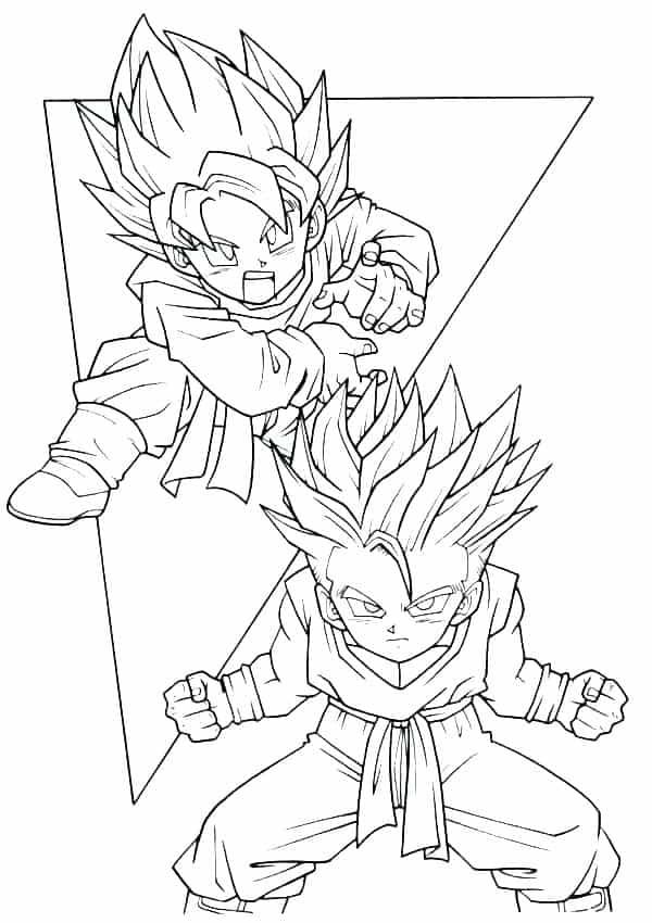 39 Desenhos Do Dragon Ball Z Para Colorir E Imprimir Grátis